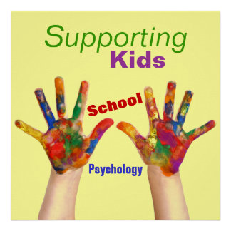 Colorful School Psychology Poster