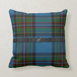 Colorful Scottish Tartan Plaid Pillow