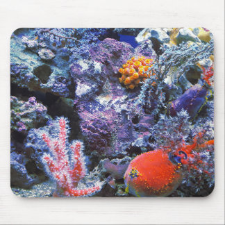 Colorful Sea Coral Mouse Pad