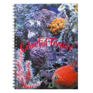 Colorful Sea Coral Notebook