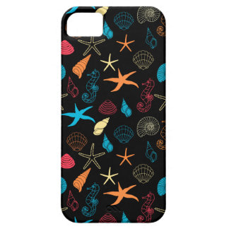 Colorful Sea Creatures Barely There iPhone 5 Case