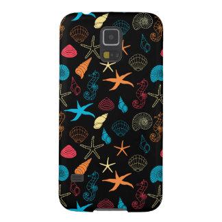 Colorful Sea Creatures Galaxy S5 Cases