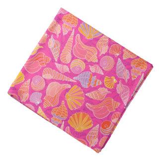 Colorful Seashells Bandana