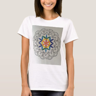 Colorful Seed of Life Mandala T-Shirt