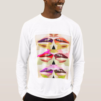 Colorful sensual lips fine art T-Shirt