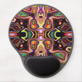 Colorful Shapes Abstract Gel Mouse Pad