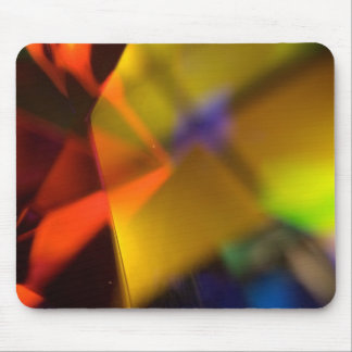 colorful shapes mouse pad