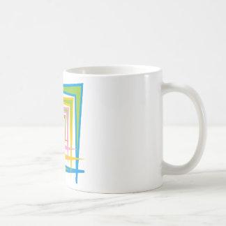 colorful shapes mug