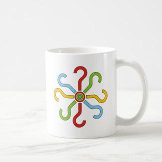 colorful shapes mugs