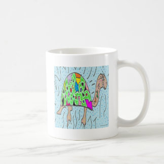 Colorful Shell Turtle Coffee Mug