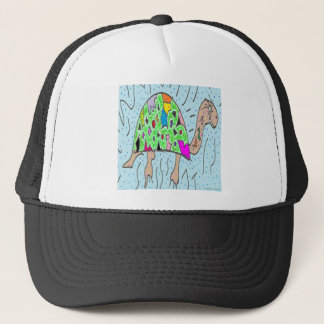 Colorful Shell Turtle Trucker Hat
