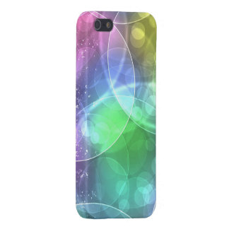 colorful shining circles iPhone 5/5S case