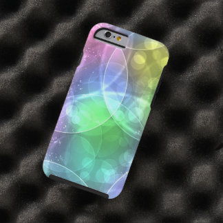 colorful shining circles iPhone 6 case