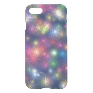 Colorful Shiny Stars Pattern Starry Case