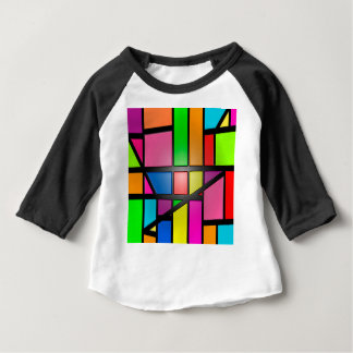 Colorful shiny Tiles Baby T-Shirt