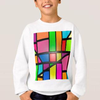Colorful shiny Tiles Sweatshirt