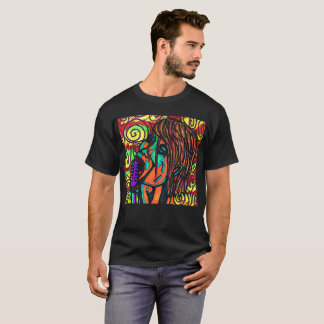 Colorful Singer T-shirt2 T-Shirt
