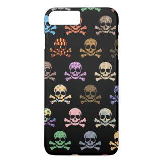 Colorful Skull & Crossbones iPhone 7 Plus Case
