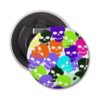 Colorful Skulls Bottle Opener