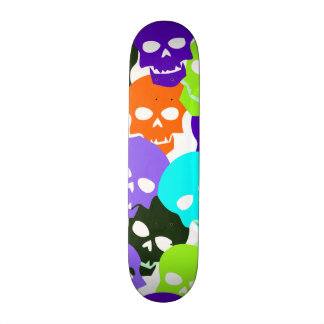 Colorful Skulls Skateboard Decks