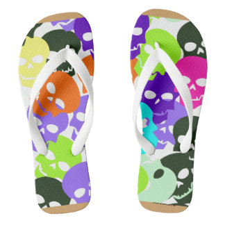 Colorful Skulls Thongs