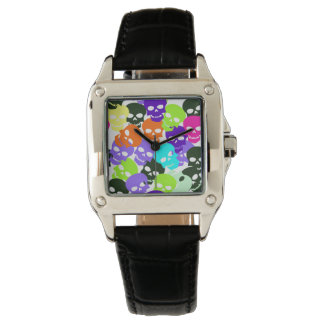 Colorful Skulls Watches