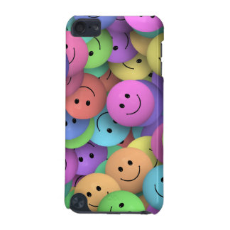 Colorful Smileys Design iPod Touch (5th Generation) Cover