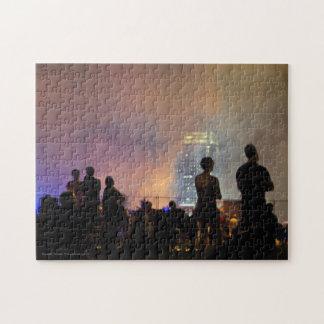 Colorful Smoke Jigsaw Puzzle