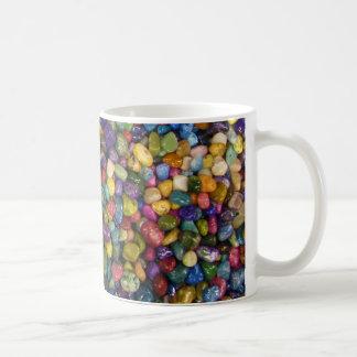 Colorful Smooth and Shiny Pebbles Rocks Mug
