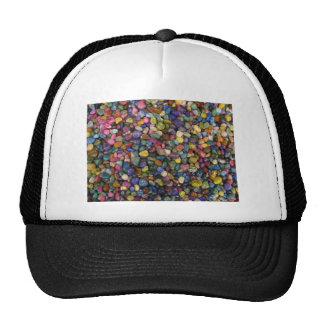 Colorful Smooth Shiny Rocks and Pebbles Cap