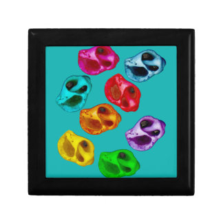 Colorful snails gift box