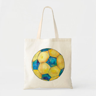 Colorful Soccer Ball Tote
