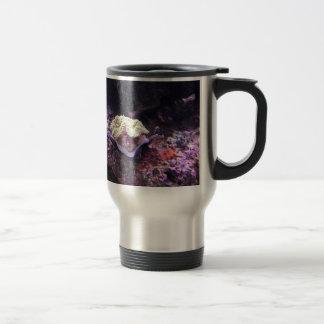 Colorful Soft Coral And Live Rocks Travel Mug