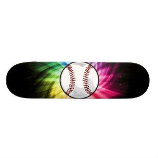 Colorful Softball; Baseball Skateboards
