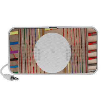 Colorful Sparkle Streaks - ADD your Image Text Travel Speakers