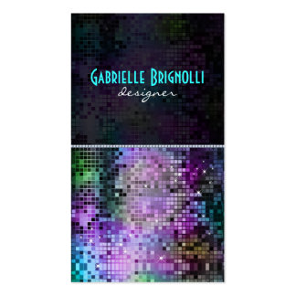 Colorful Sparkles & Glitter Pattern 2 Pack Of Standard Business Cards