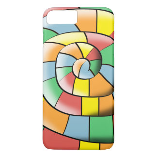 Colorful spiral iPhone 8 plus/7 plus case