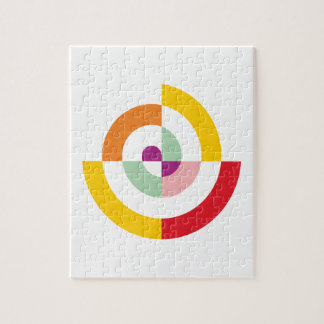 Colorful Spiral Jigsaw Puzzle