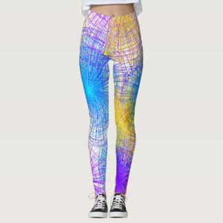 Colorful Spiral Leggings