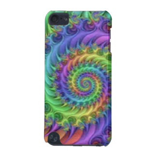 Colorful Spiral Pattern Print Design iPod Touch 5G Case