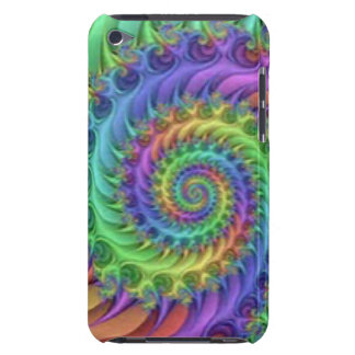 Colorful Spiral Pattern Print Design iPod Touch Case-Mate Case