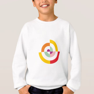 Colorful Spiral Sweatshirt
