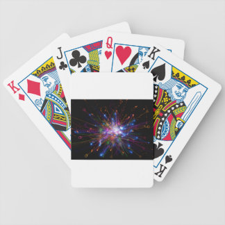 Colorful spot bicycle playing cards