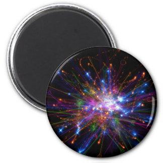 Colorful spot magnet
