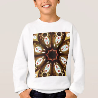 colorful spot pattern sweatshirt