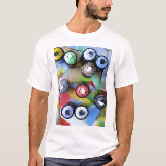 Colorful Spraycans T-Shirt