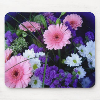 Colorful Spring Bouquet Mouse Pad