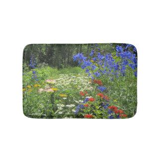 Colorful Spring Garden! Bath Mat
