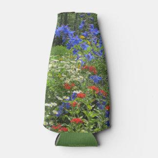 Colorful Spring Garden! Bottle Cooler