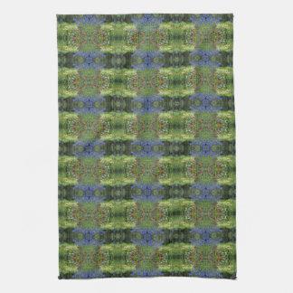Colorful Spring Garden! Tea Towel